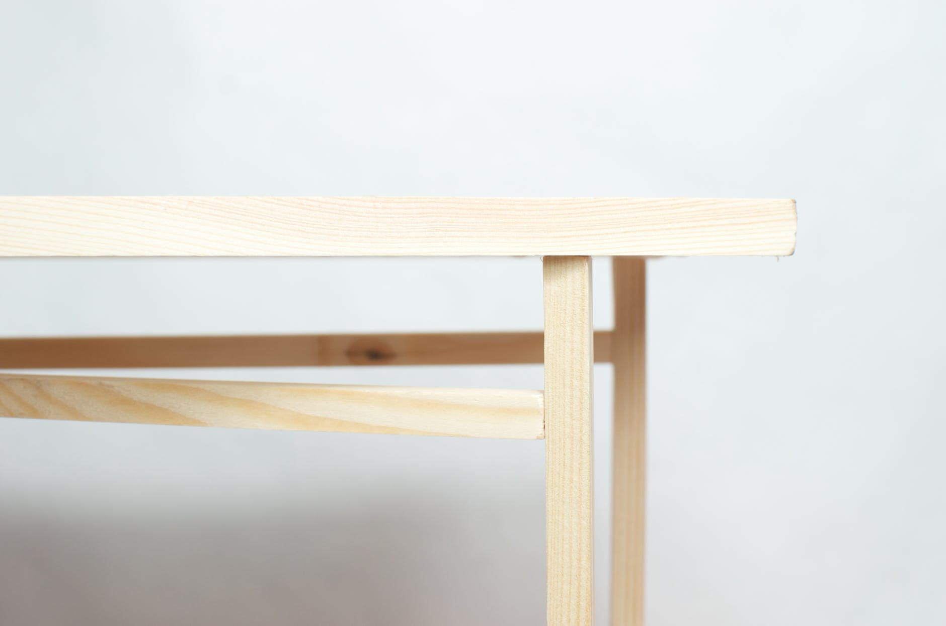 texture of wooden table in studio
